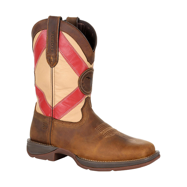 Durango Rebel Florida State Flag Western Boot