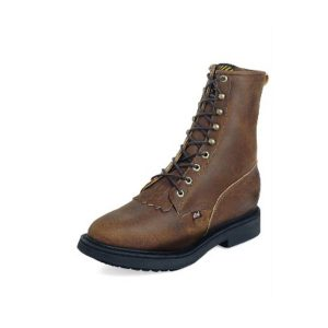 Justin Work Boot Lacer-up Handcrafted in the U.S.A.