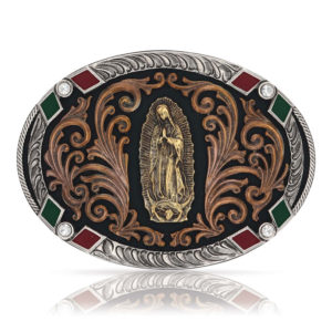 Montana Silversmiths Our Lady of Guadalupe Attitude Buckle