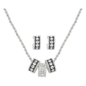 Montana Silversmiths Crystal Shine Jewelry Set