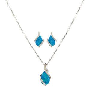 Montana Silversmiths River Lights Twin Paths Jewelry Set
