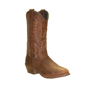 Made in USA Abilene Tan Bison Round Toe