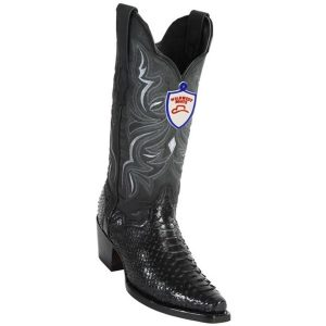 Wild West Python Boots Snip Toe Handcrafted