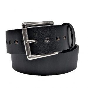 "Handmade 1 3/4"" Leather Belt in Black"