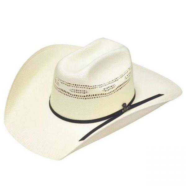 Ariat Bangora Hat Ivory Black Hat Band