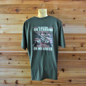 Die Standing Short Sleeve T-shirt