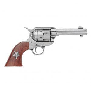 Replica M1873 Grey Finish Six Shooter Revolver Non-Firing