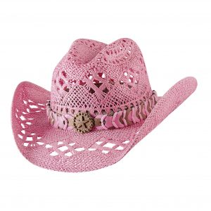 Bullhide Hats Naughty Girl in Pink