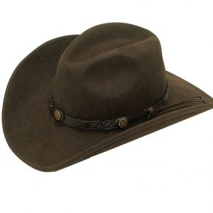 Crushable Cowboy Hat in Brown