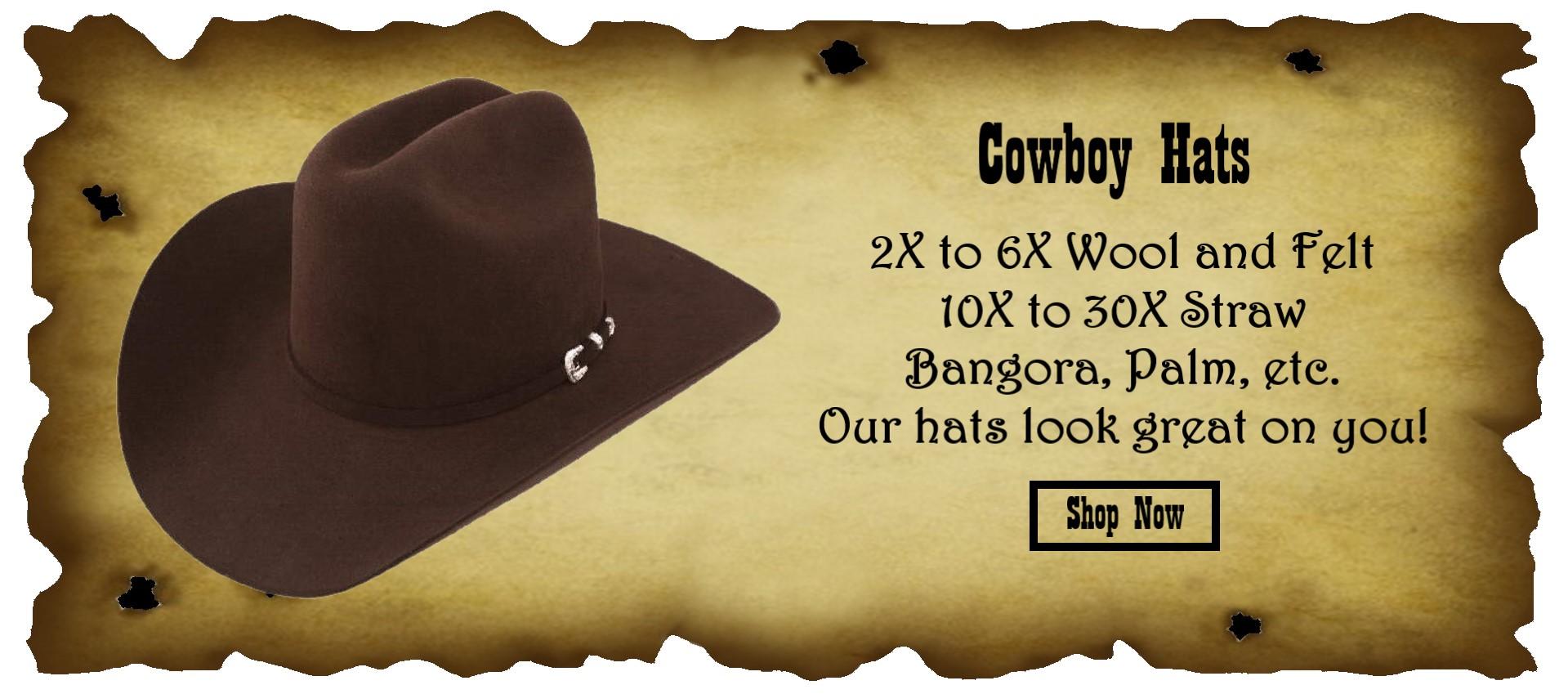 Cowboy Hats Slider