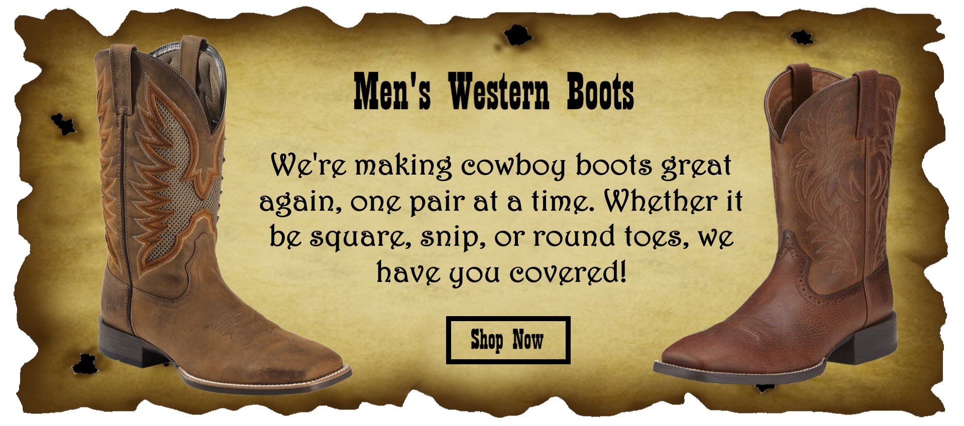Mens Boots Slider