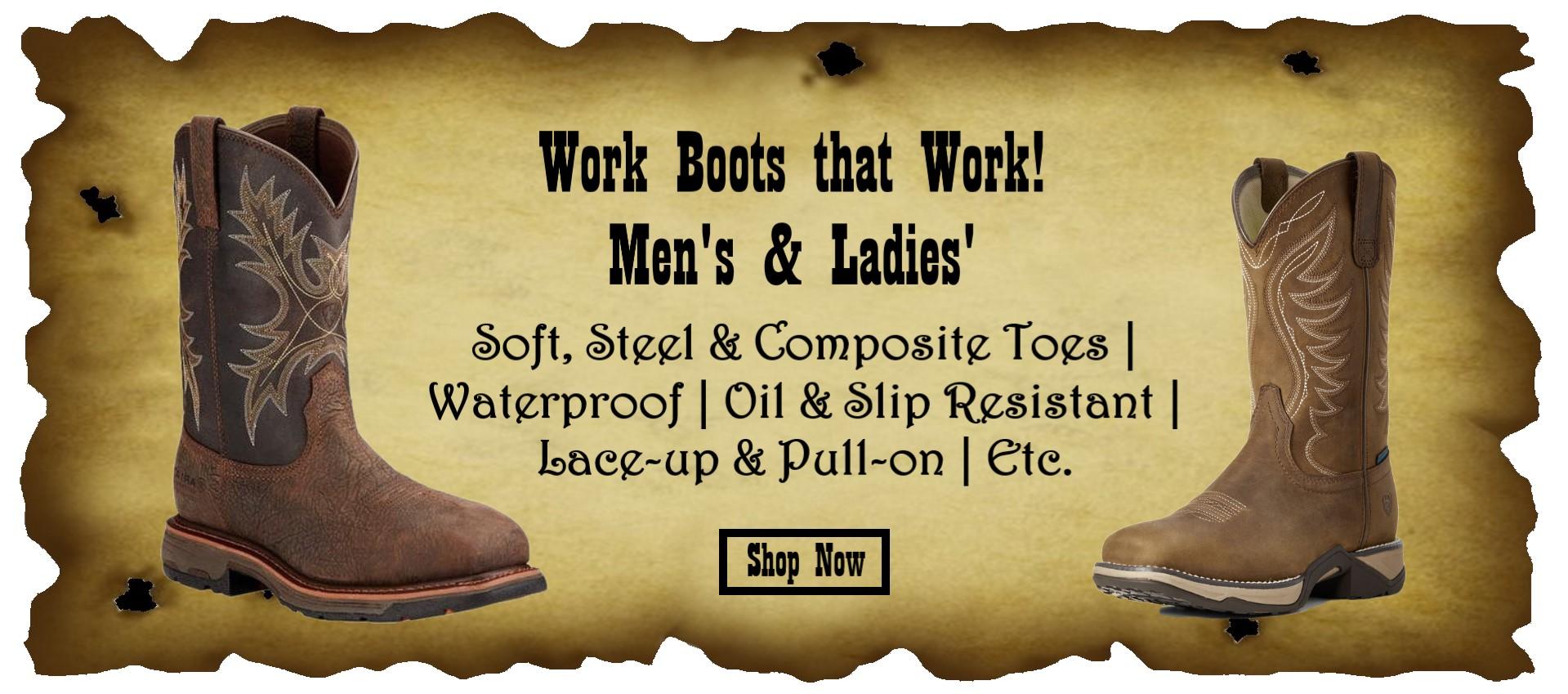Work Boots Slider