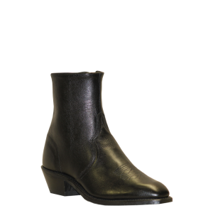 Made in USA Abilene Short Zipper Boot Square toe
