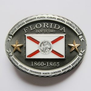 Vintage Florida Western Belt Buckle