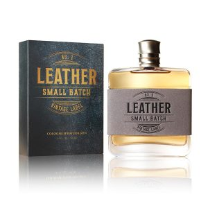 Men's Small Batch Leather Cologne