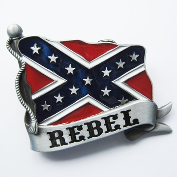 Vintage Western Rebel Belt Buckle
