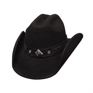 Horsing Around Black Kid's Hat