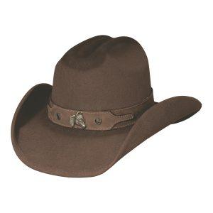 Horsing Around Brown Kid's Hat