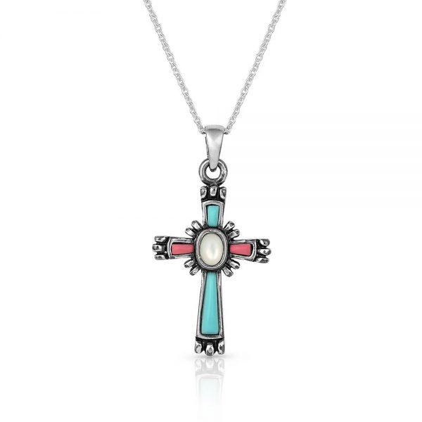 Montana Silversmiths Beaming Cross Necklace