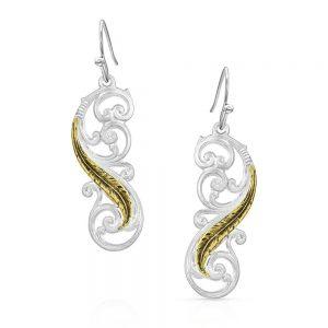 Montana Silversmiths Sunfire Earrings
