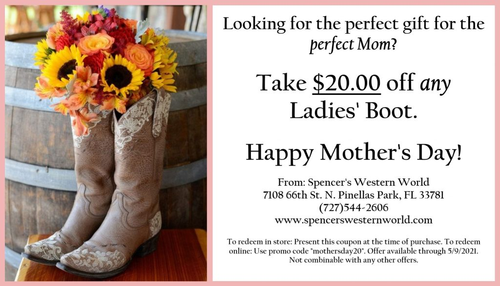 Spencers Mothers Day Sale Ad