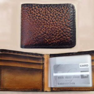 Handmade Soft Bi-fold Wallet