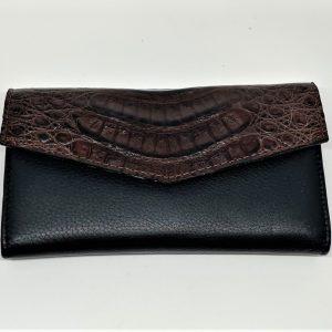 Chocolate Crocodile Wallet