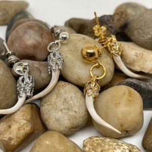 Rattlesnake Fang Earrings
